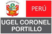UGEL CORONEL PORTILLO