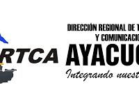 DIRECCIÓN REGIONALES DE TRANSPORTES Y COMUNICACIONES AYACUCHO(DRTCA)